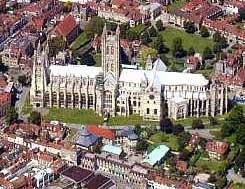 The Cathedral from the air